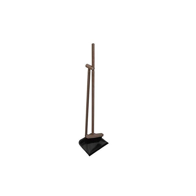 kehrgarnitur kehrboy deluxe schaufel metall besen rosshaarmischung. Black Bedroom Furniture Sets. Home Design Ideas