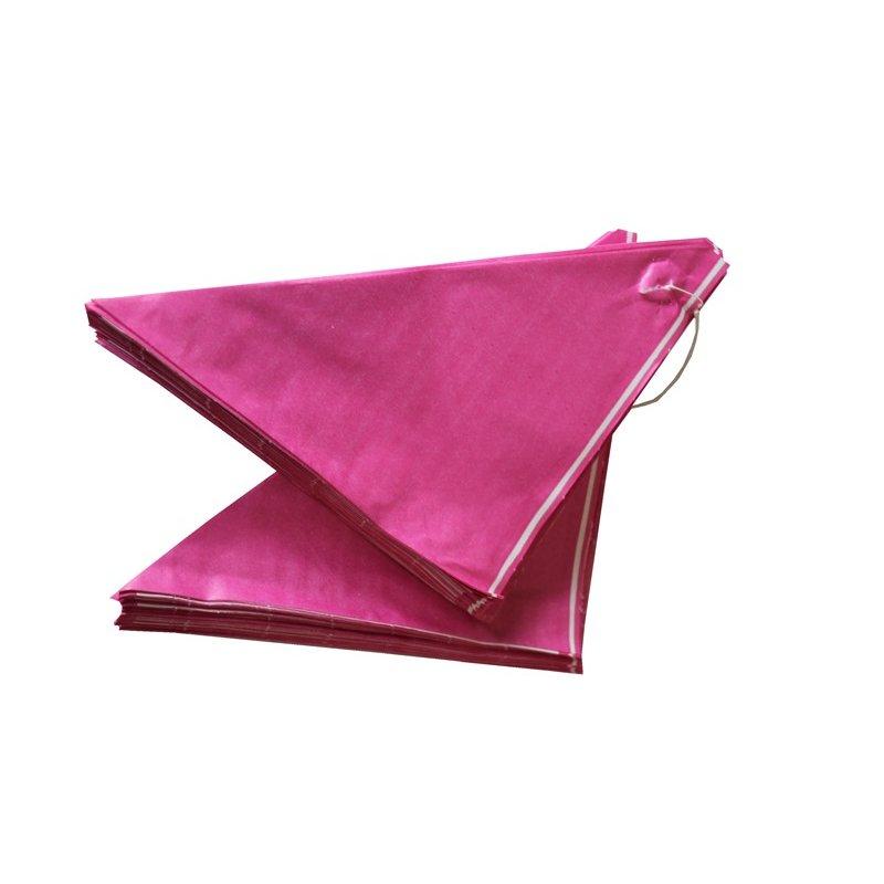 spitzt ten aus papier pink gef delt verschiedene gr. Black Bedroom Furniture Sets. Home Design Ideas