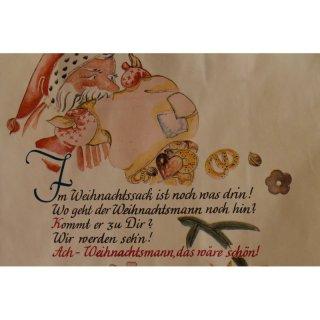Papiertragetasche Mit Kordel Weihnachten Gedicht Classic Verschiedene Größen Und Mengen